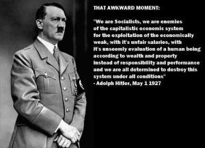 Awkward Hitler moment