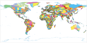 A good map of the world's administrative units