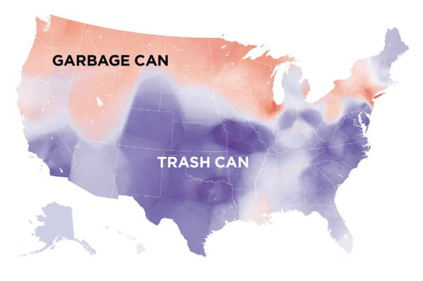 NOL garbage versus trash USA