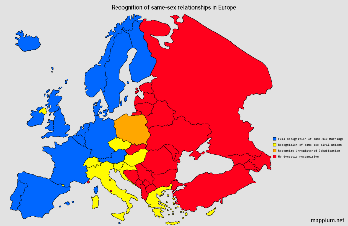 NOL gay marriage Europe