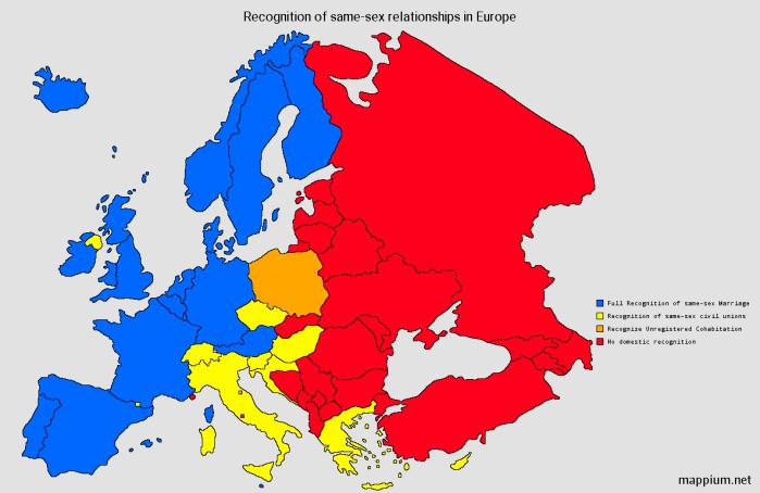 NOL gay marriage Europe