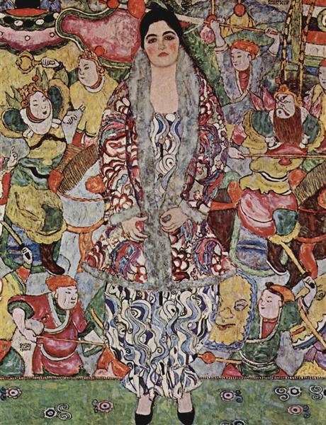 NOL art Klimt fredericke maria beer 1916