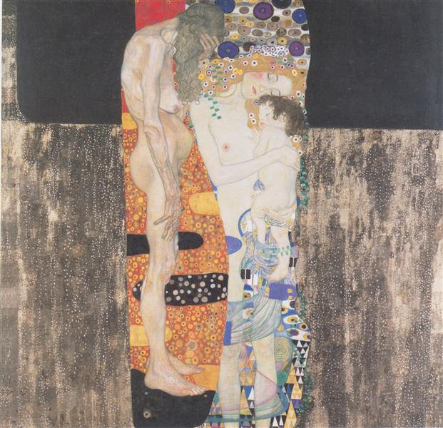 NOL art Klimt the three ages of woman 1905