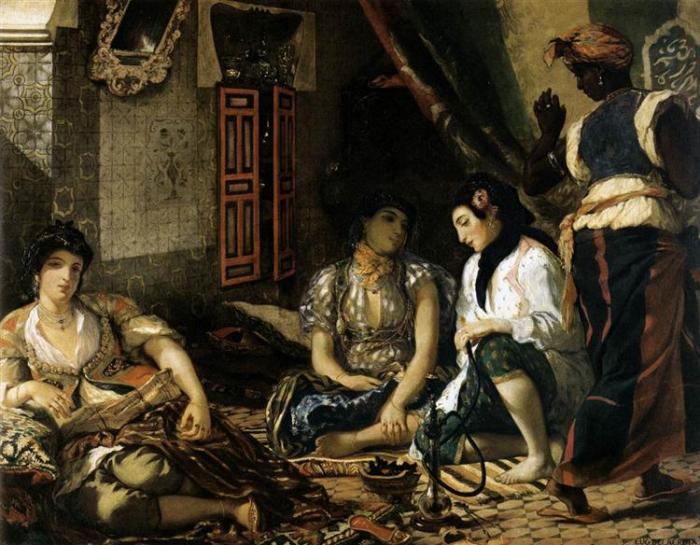 nol art delacroix the women of algiers 1834