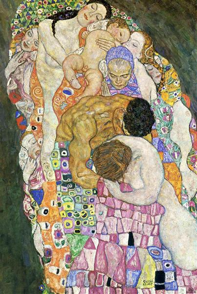 nol art klimt death and life 1916