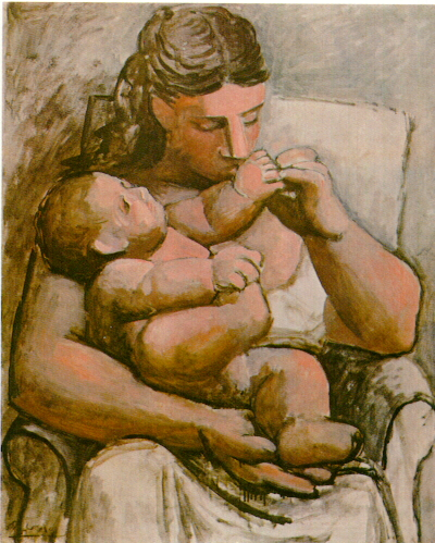 nol art picasso mother and child 1921