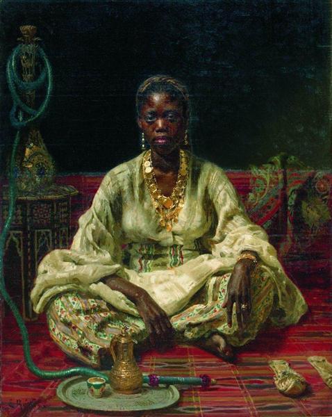 nol art repin negress 1876