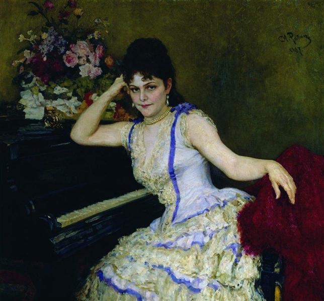 nol art repin sophie menter 1887