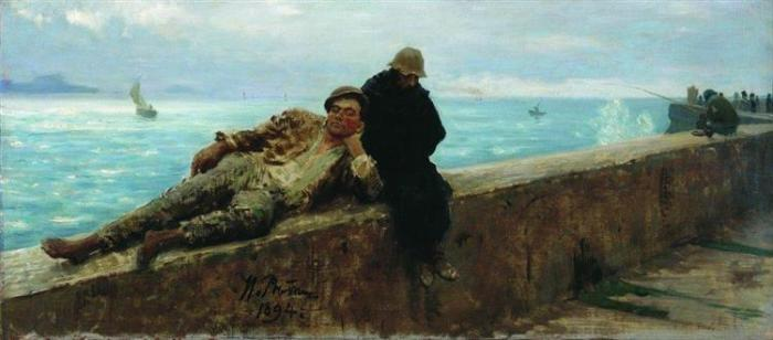 nol art repin tramps homeless 1894