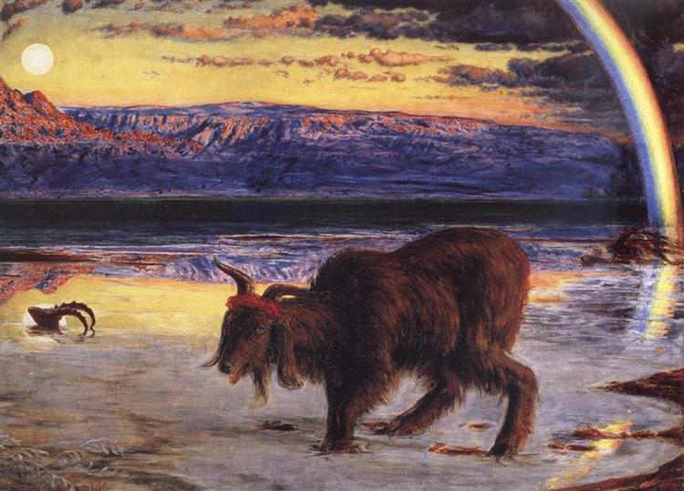 NOL art Holman Hunt the scapegoat